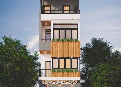Thiết kế trọn gói kiến trúc-nội thất nhà anh Sơn – chị Giang