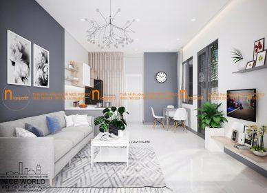 Thiết kế cải tạo nhà cấp 4 – anh Hòa