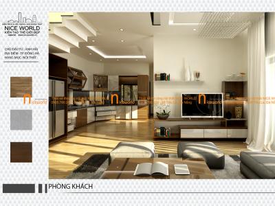 Thiết kế nội thất nhà anh Hải – Đông Hà