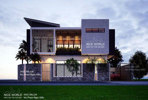 Thiết kế Nhà đẹp Đà Nẵng ấn tượng với chi phí thấp
