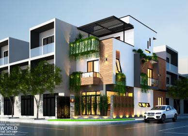 Thiết kế trọn gói kiến trúc nội thất nhà anh Hưng – TP. Vũng Tàu