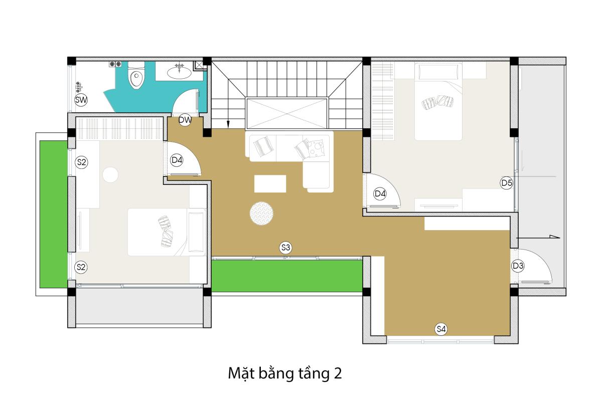 fdfchi-tiet-nha-co-duyen-model Đã mắt với ngôi nhà thiết kế đẹp độc và lạ xanh mát ấn tượng ở Đà Nẵng. fdfchi tiet nha co duyen Model