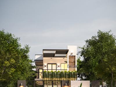 Thiết kế kiến trúc nhà anh Tuấn – Hội An