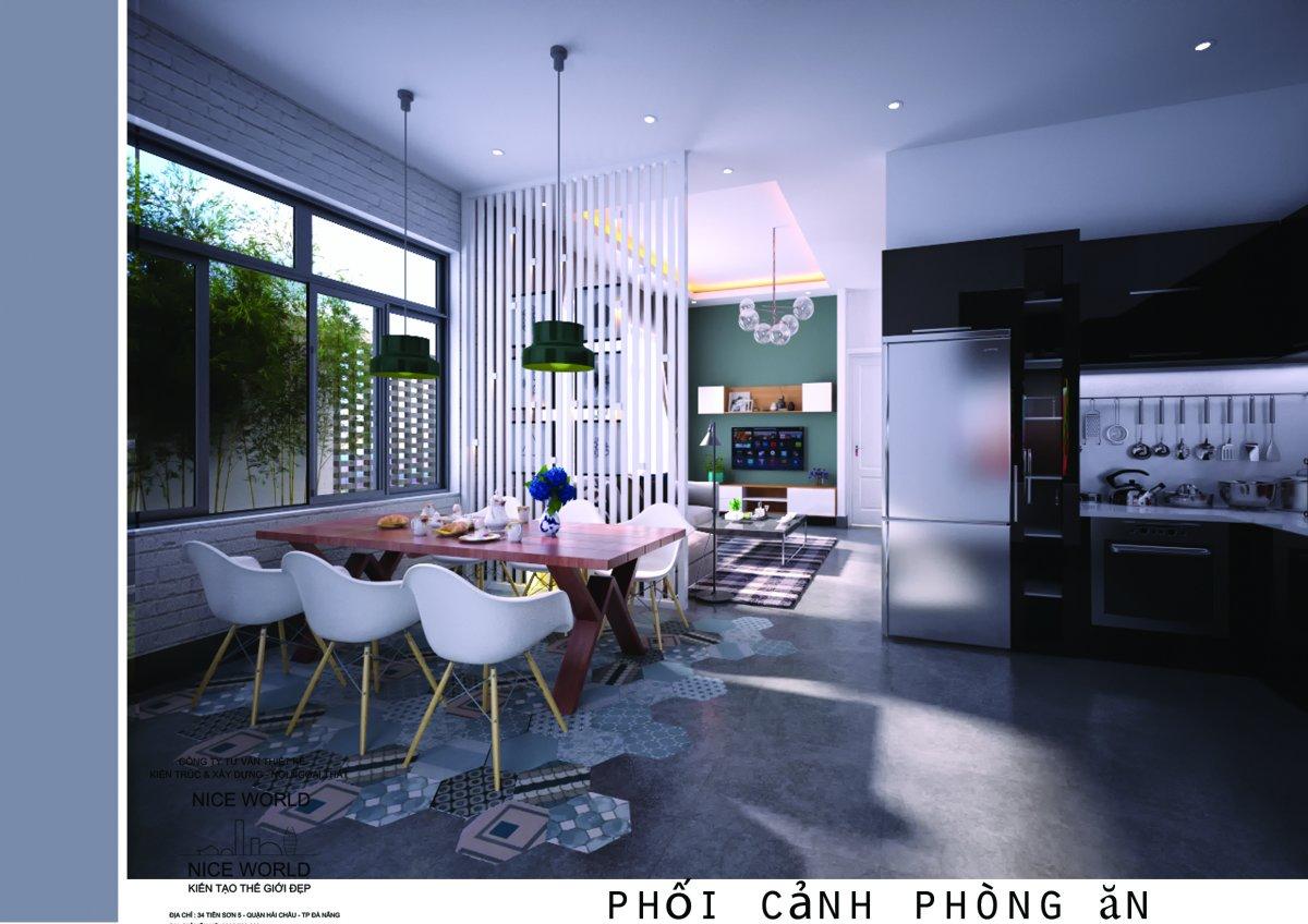 4 Đã mắt với ngôi nhà thiết kế đẹp độc và lạ xanh mát ấn tượng ở Đà Nẵng. 4