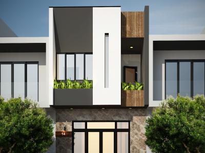 Lạc trôi trong căn nhà phố của đôi vợ chồng trẻ anh Trúc – Đà Nẵng