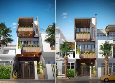 Nhà phố 4×16 có thiết kế ấn tượng hút mắt nhờ thiết kế thông minh tại tp Hạ Long