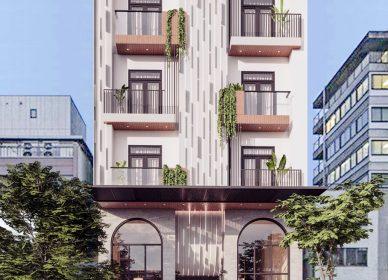 Thiết kế khách sạn 4 sao hiện đại Núi Thành – Quảng Nam