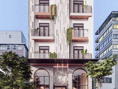 Sky Hotel – Thiết kế khách sạn Núi Thành – Quảng Nam