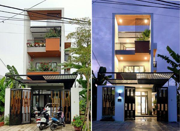 Read more about the article Nhà 3 tầng láy gió và sáng có thiết kế ấn tượng tại Đà Nẵng