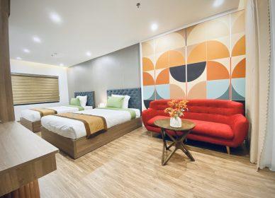 Bàn giao nội thất khách sạn Sky ở Núi Thành – Quảng Nam