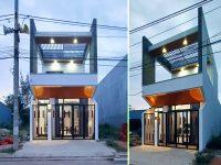 Ấn tượng nhà phố 2 tầng xây dựng 750 triệu Đà Nẵng