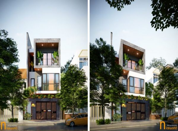Read more about the article Thiết kế kiến trúc & Thi công nội thất  nhà đẹp 6x20m tinh tế, mới lạ tại Đà Nẵng