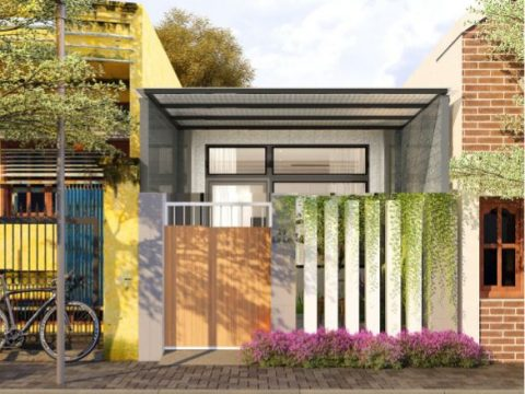 Ngôi nhà cấp 4 – 2 phòng ngủ -3,9 x 17,5m Thiết kế đẹp & tiết kiệm chi phí tại Đà Nẵn