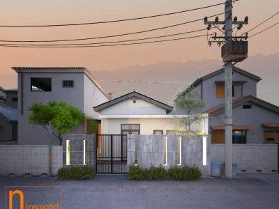 Thiết kế nhà cấp 4 anh Hòa – 6.8×15 m – Đà Nẵng