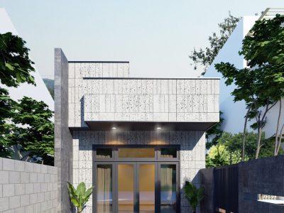 Thiết kế Nhà cấp 4 anh Bảo – 5×24 m – Đồng Nai