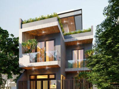 Thiết kế Biệt Thự anh Sơn – 7.2×12 m – Đồng Nai