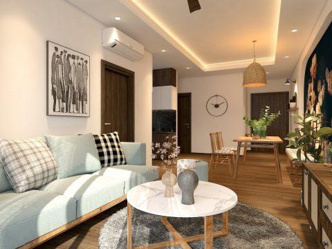 Căn hộ chung cư Opal Boulevard TPHCM 2 phòng ngủ ,diện tích 74 m2