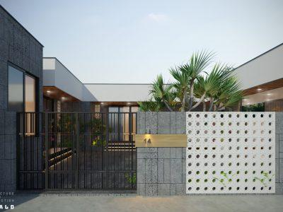 Thiết kế Biệt thự Anh Duy – 215 m2 – Đồng Nai