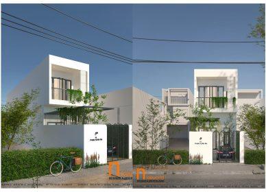 Nhà phố 2 tầng, diện tích 4x20m2