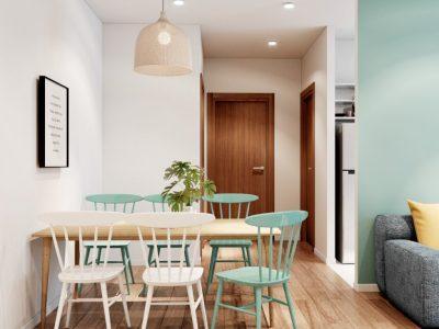Thiết kế nội thất căn hộ chung cư FPT – 3 phòng ngủ