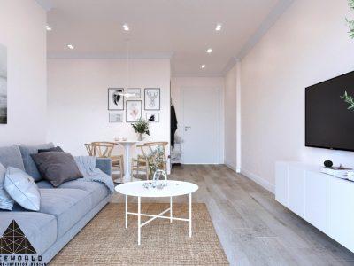 Thiết kế nội thất chung cư FPT PLAZA Đà Nẵng – Anh Tùng – 3 Phòng ngủ