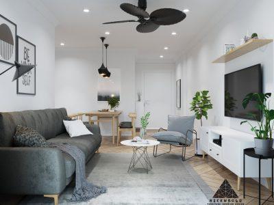 Thiết kế căn hộ chung cư FPT PLAZA Đà Nẵng – Anh Nam – 3 Phòng Ngủ